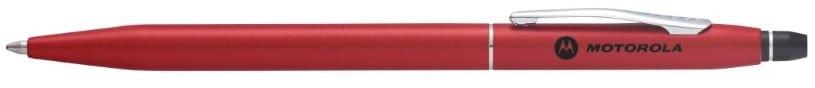 Red Motorola Cross Click Pen