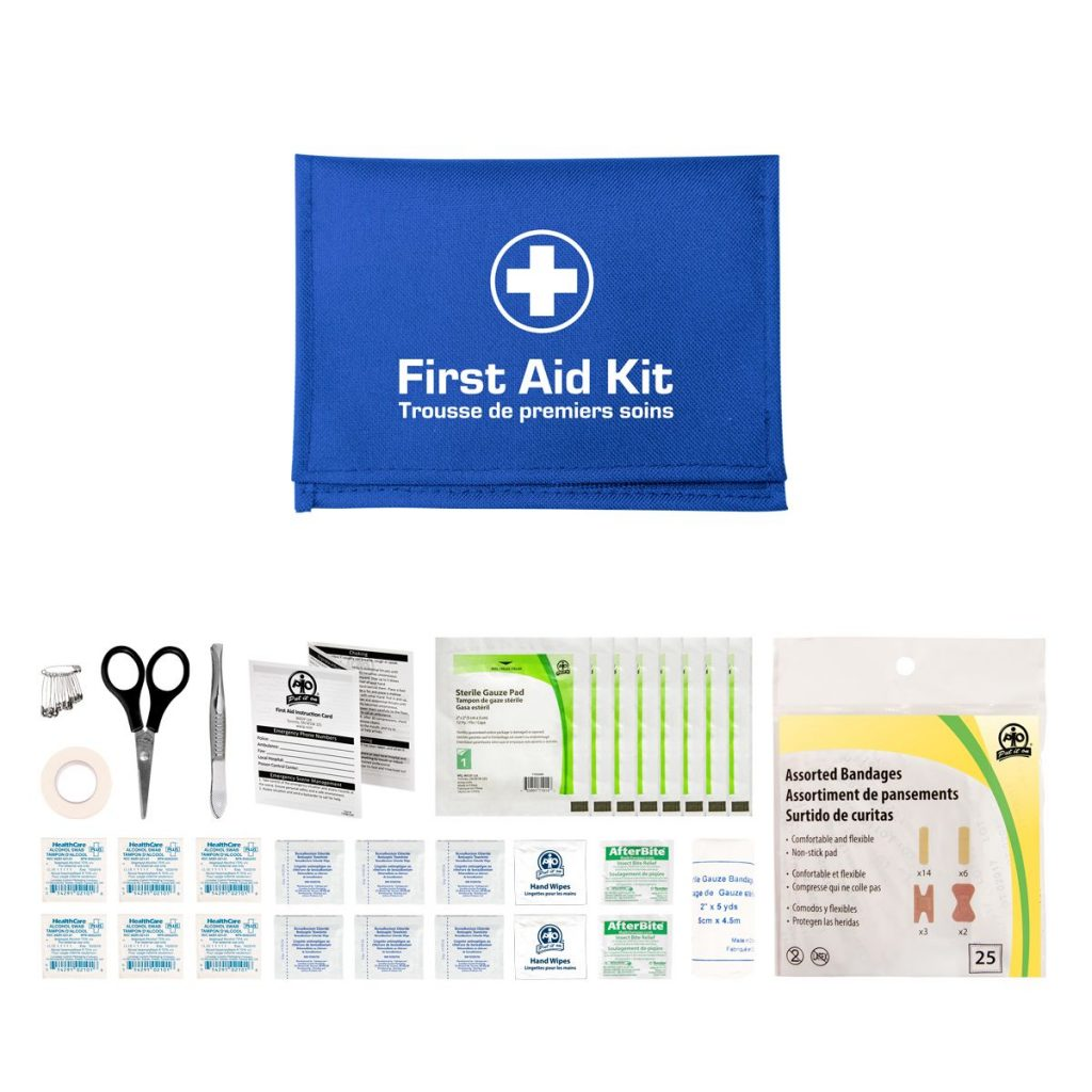 Blue Redi-Medic Glove Box First-Aid Kit