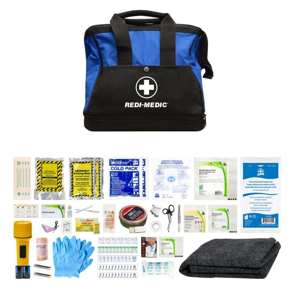 Deluxe Redi-Medic First-Aid Kit in Nylon Bag
