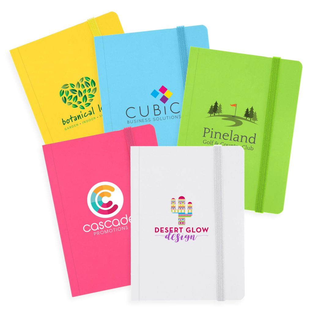 Bright Coloured Custom Printed Journals