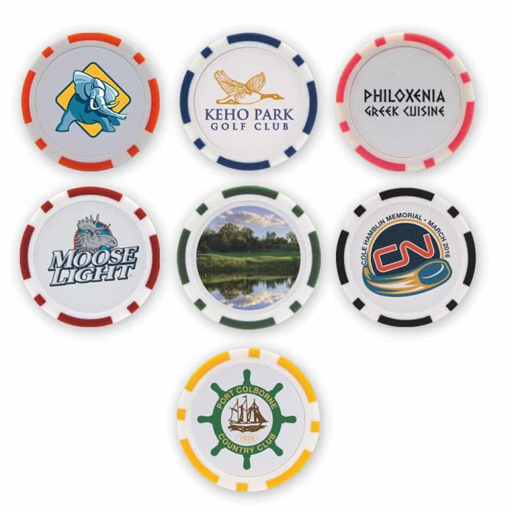 Custom Poker Chips Printed in Full Colour