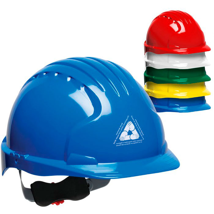Evolution Deluxe 6151 Printed Hard Hats
