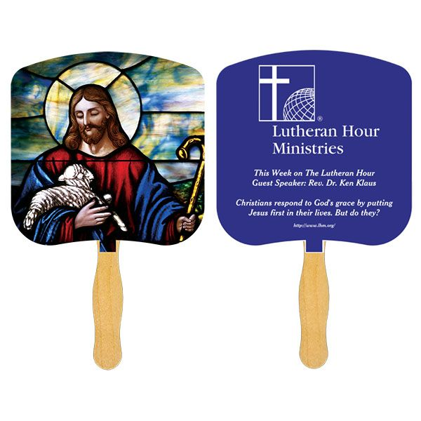 Lutheran Hour Ministries Hand Fan