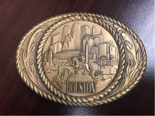 Cities of the Nation Belt Buckles